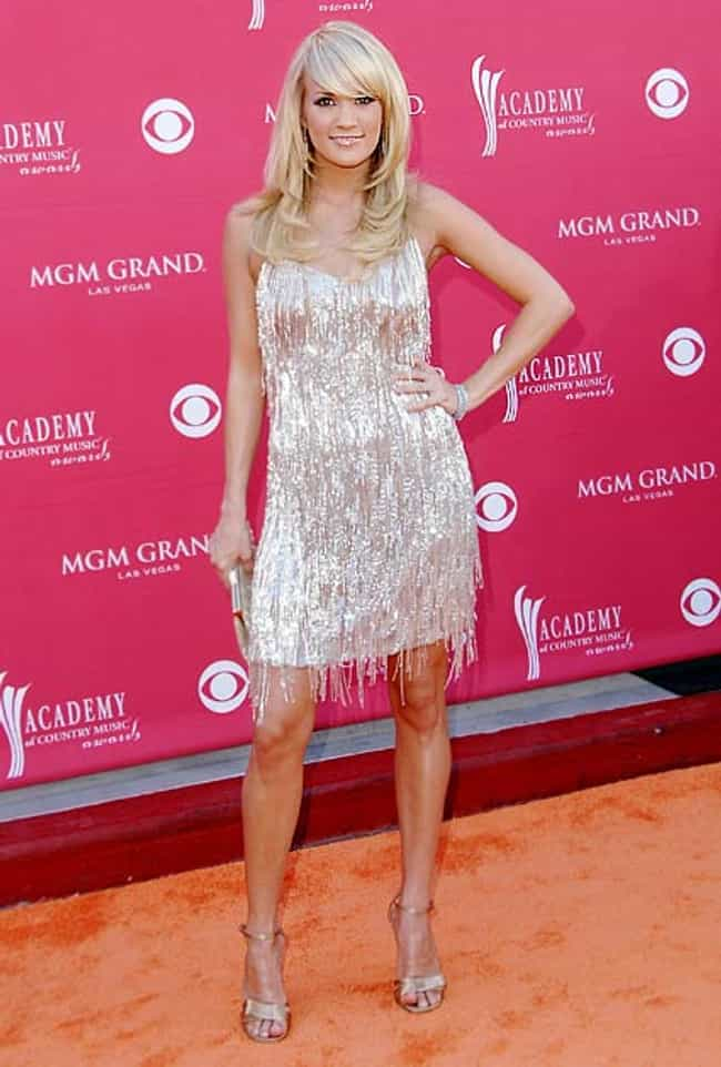 Carrie Underwood in Silver Bea... is listed (or ranked) 4 on the list The Most Stunning Carrie Underwood Photos