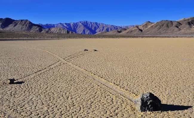 Sailing Stones is listed (or ranked) 1 on the list 11 Amazing & Rare Natural Phenomena