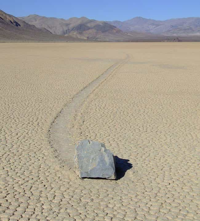 Sailing Stones is listed (or ranked) 1 on the list 10 Amazing & Rare Natural Phenomena