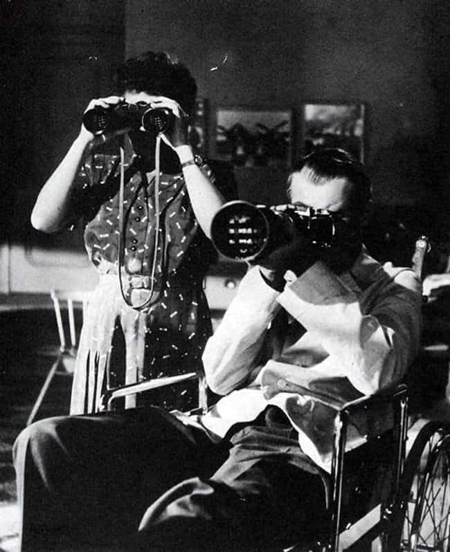 The Human Intelligence ... is listed (or ranked) 2 on the list Rear Window Movie Quotes
