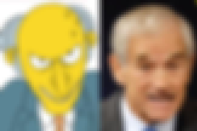 Ron Paul/Mr.Burns is listed (or ranked) 8 on the list Why The 8 GOP Candidates Are Like Famous Supervillains