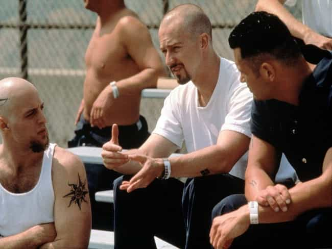 The Dangerous Man Here is listed (or ranked) 3 on the list American History X Movie Quotes