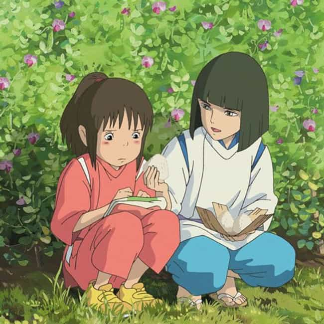 You Can Never Forget Someone is listed (or ranked) 2 on the list Spirited Away Movie Quotes