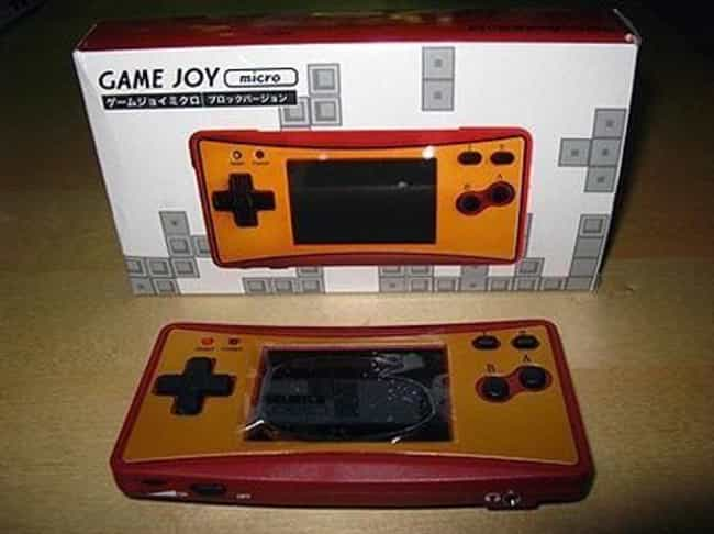 Game Joy is listed (or ranked) 8 on the list The Most Shameless Video Game Console Knockoffs
