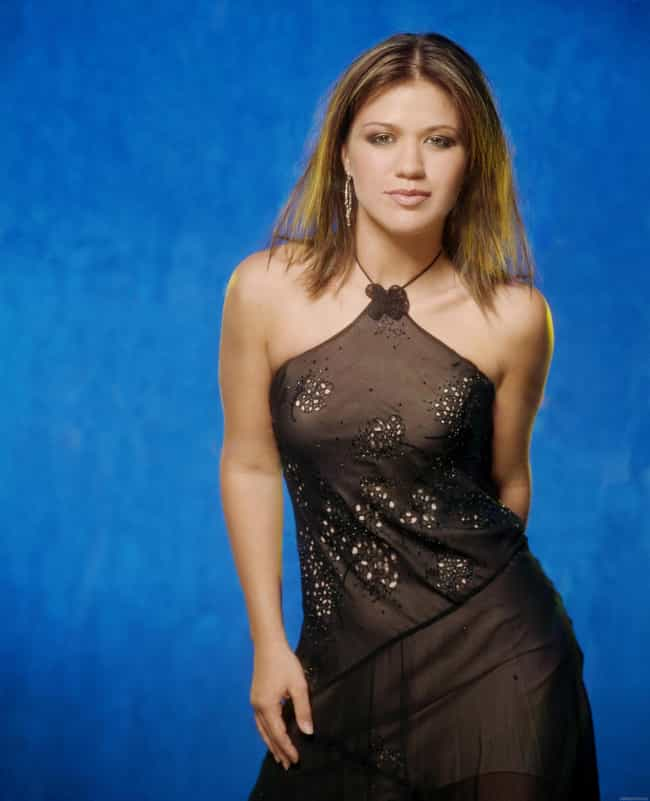 Kelly Clarkson in Halter Embro... is listed (or ranked) 2 on the list The Most Stunning Kelly Clarkson Photos