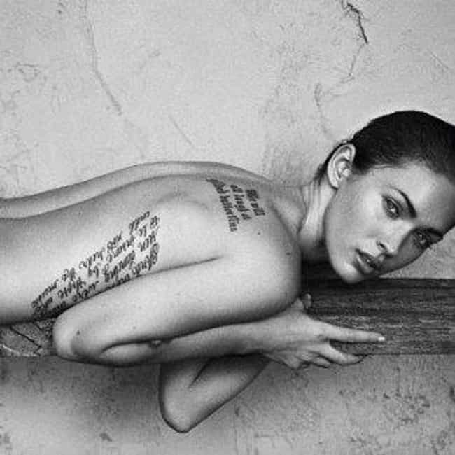 Nietzsche is listed (or ranked) 3 on the list Hot Megan Fox Tattoos