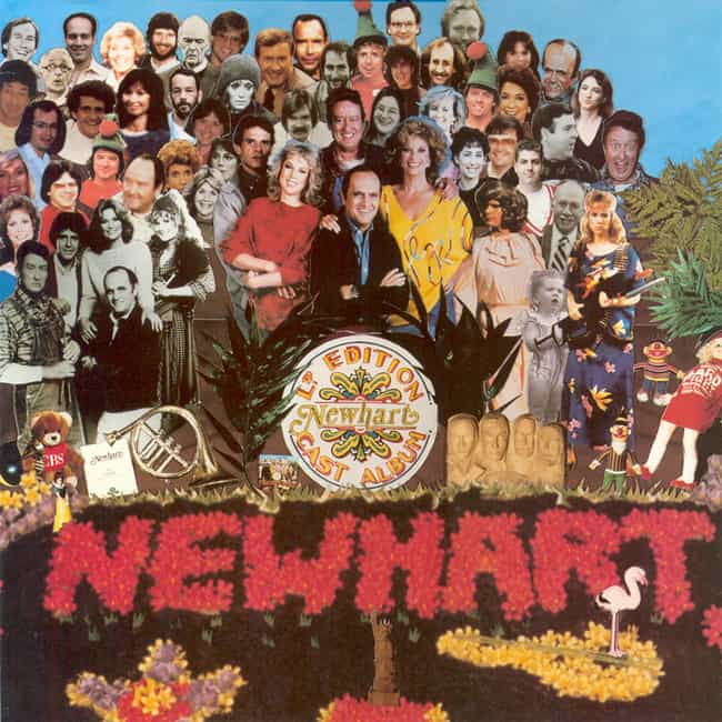 Ltd. Edition Newhart Cast Albu... is listed (or ranked) 4 on the list Beatles Parody Album Covers