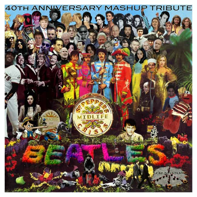 Sgt. Pepper's Mid Life Crisis is listed (or ranked) 3 on the list Beatles Parody Album Covers