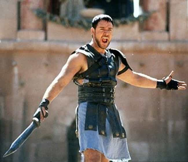 Death Smiles at Us All ... is listed (or ranked) 2 on the list Gladiator Movie Quotes