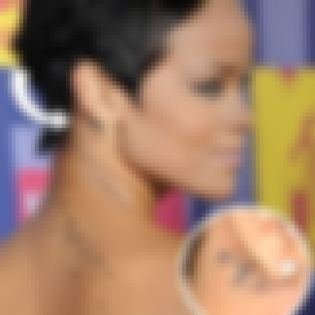 Rihanna's Pisces Sign Tattoo is listed (or ranked) 5 on the list Rihanna Tattoos