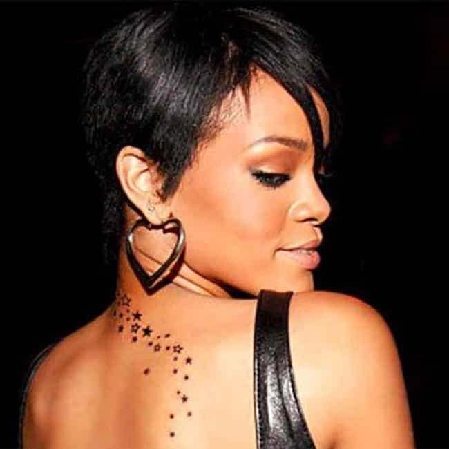 Rihanna's Trail of Stars... is listed (or ranked) 1 on the list Rihanna Tattoos