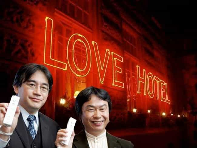 Love Hotels is listed (or ranked) 1 on the list 7 Nintendo Products You Never Knew Existed