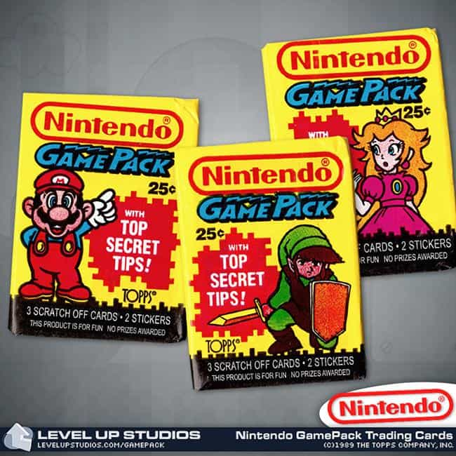 Ancient Trading Cards is listed (or ranked) 4 on the list 7 Nintendo Products You Never Knew Existed