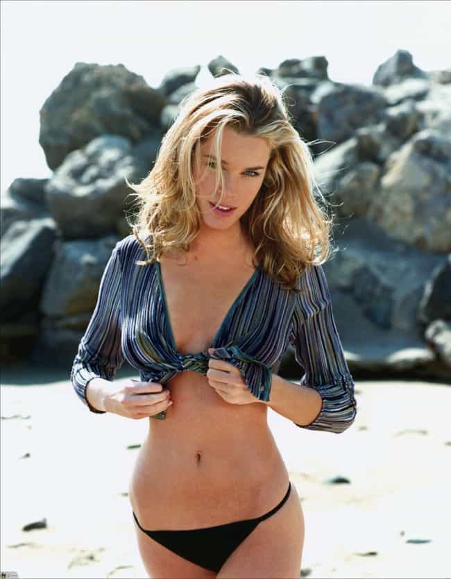 Rebecca Romijn in Moda Sheer B... is listed (or ranked) 4 on the list Hottest Rebecca Romijn Photos