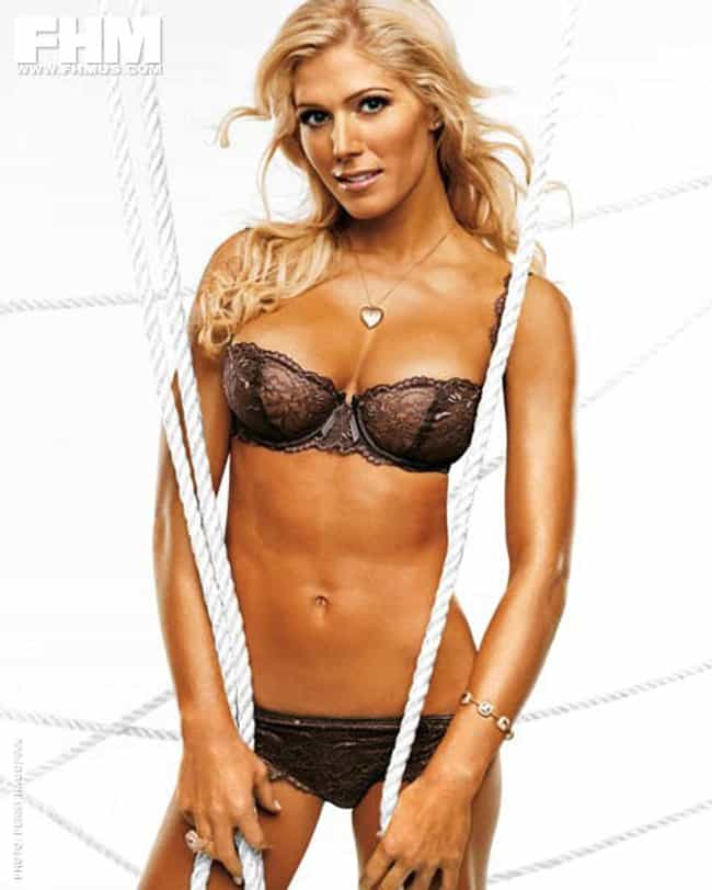 Torrie Wilson in Underwire Tri... is listed (or ranked) 2 on the list Hottest Torrie Wilson Photos