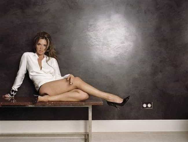 Victoria Beckham in V-Neck Lon... is listed (or ranked) 2 on the list Hottest Victoria Beckham Photos
