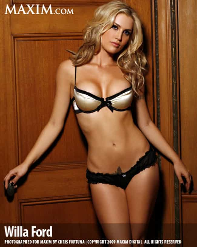 Willa Ford in Soft Cap Bra wit... is listed (or ranked) 1 on the list Hottest Willa Ford Photos