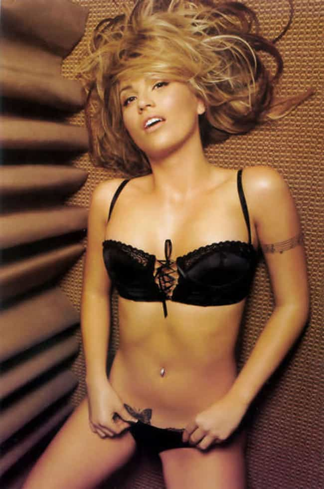 Willa Ford in Satin Ribbon Lac... is listed (or ranked) 2 on the list Hottest Willa Ford Photos