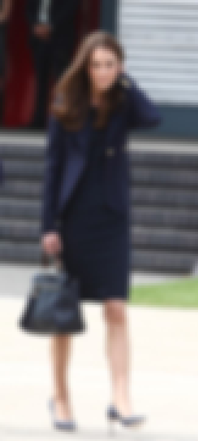 Kate Middleton in Black Dress ... is listed (or ranked) 4 on the list Kate Middleton's Most Stylish Looks (with Photos)