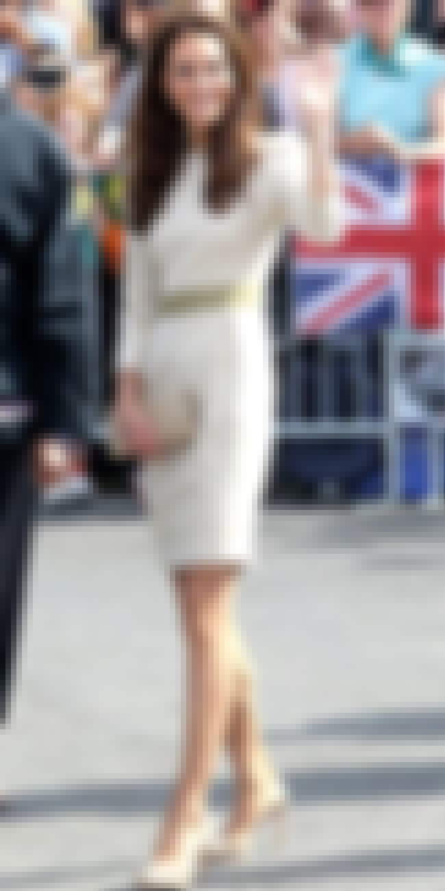 Kate Middleton in Beige Dress is listed (or ranked) 4 on the list Kate Middleton's Most Stylish Looks (with Photos)
