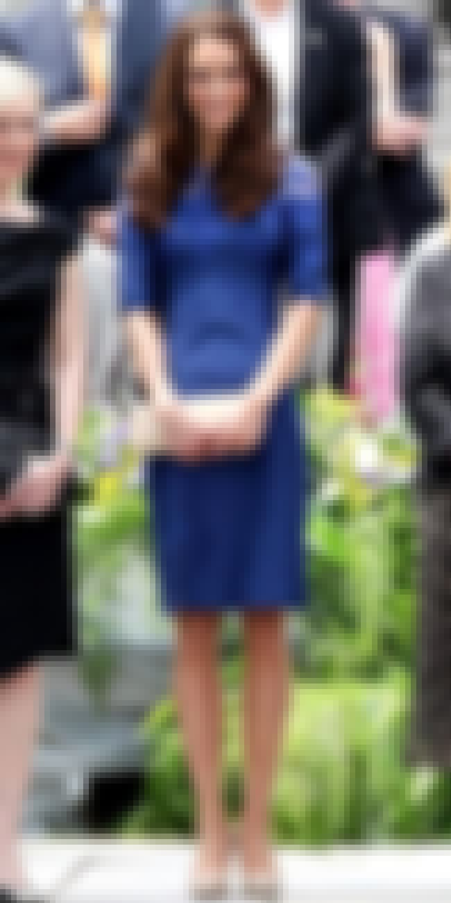 Kate Middleton in Blue Dress is listed (or ranked) 4 on the list Kate Middleton's Most Stylish Looks (with Photos)