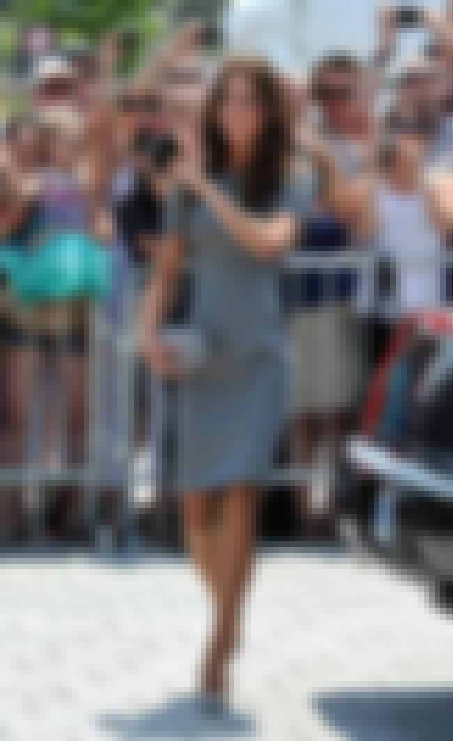 Kate Middleton in Grey Dress is listed (or ranked) 3 on the list Kate Middleton's Most Stylish Looks (with Photos)