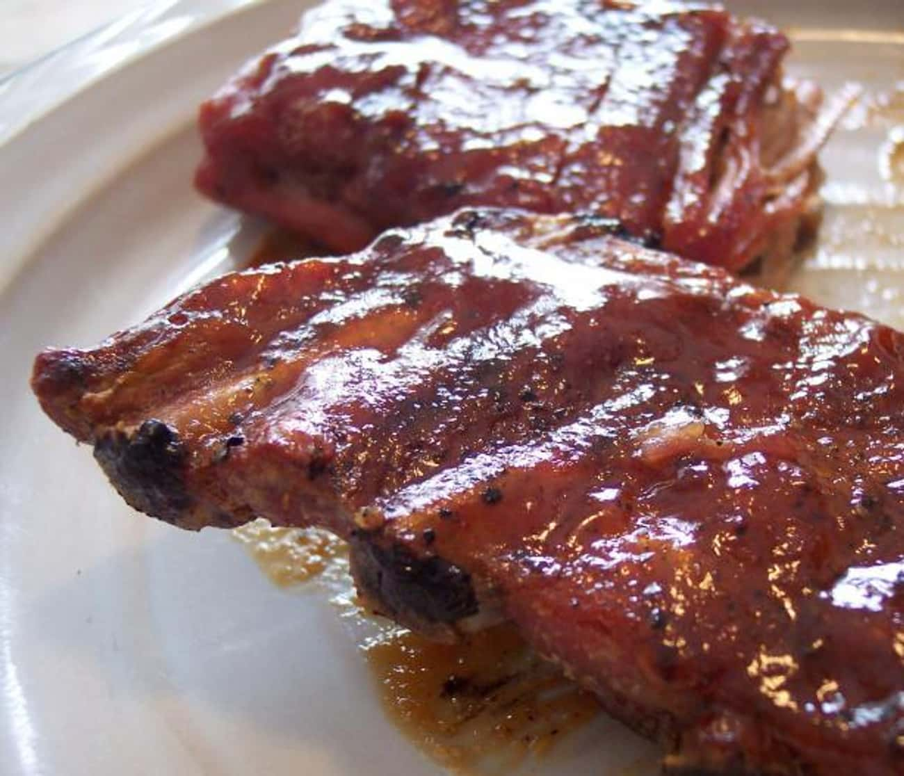 Applebee's Honey Barbecue Ribl is listed (or ranked) 2 on the list Best Applebee's Menu Recipes