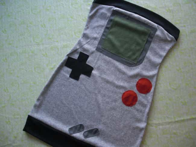 Game Boy Dress is listed (or ranked) 2 on the list The 6 Sexiest Gifts for Your Gamer Girlfriend