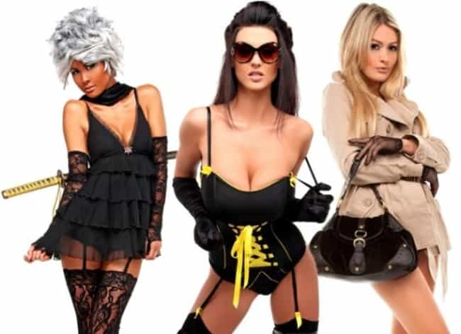 The 'No More Heroes' Lingerie ... is listed (or ranked) 1 on the list The 6 Sexiest Gifts for Your Gamer Girlfriend