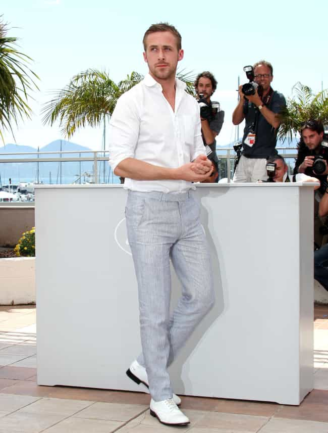 Ryan Gosling in White Tuck-In ... is listed (or ranked) 1 on the list Hot Ryan Gosling Photos