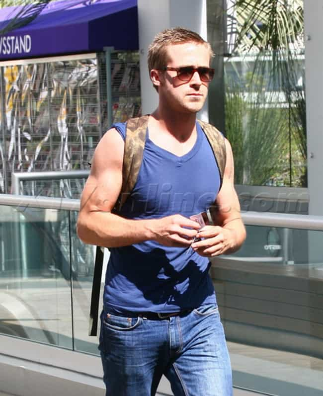 Ryan Gosling in Sleeveless Top... is listed (or ranked) 2 on the list Hot Ryan Gosling Photos