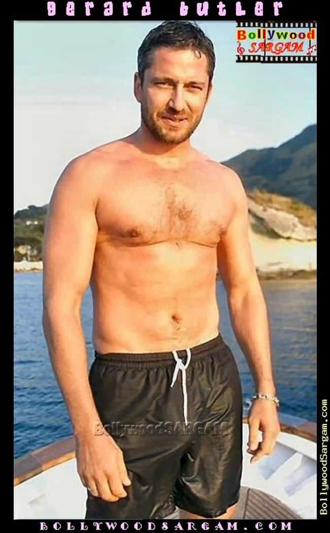 Gerard Butler in Black G... is listed (or ranked) 1 on the list Hottest Pictures of Gerard Butler