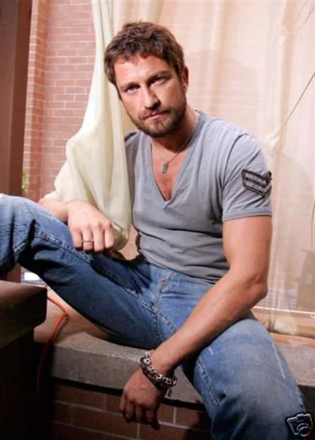 Gerard Butler in V-Neck ... is listed (or ranked) 4 on the list Hottest Pictures of Gerard Butler