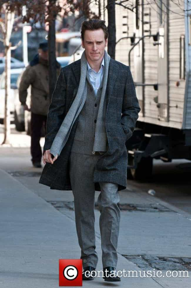 Michael Fassbender in Gray Woo... is listed (or ranked) 4 on the list Hot Michael Fassbender Photos
