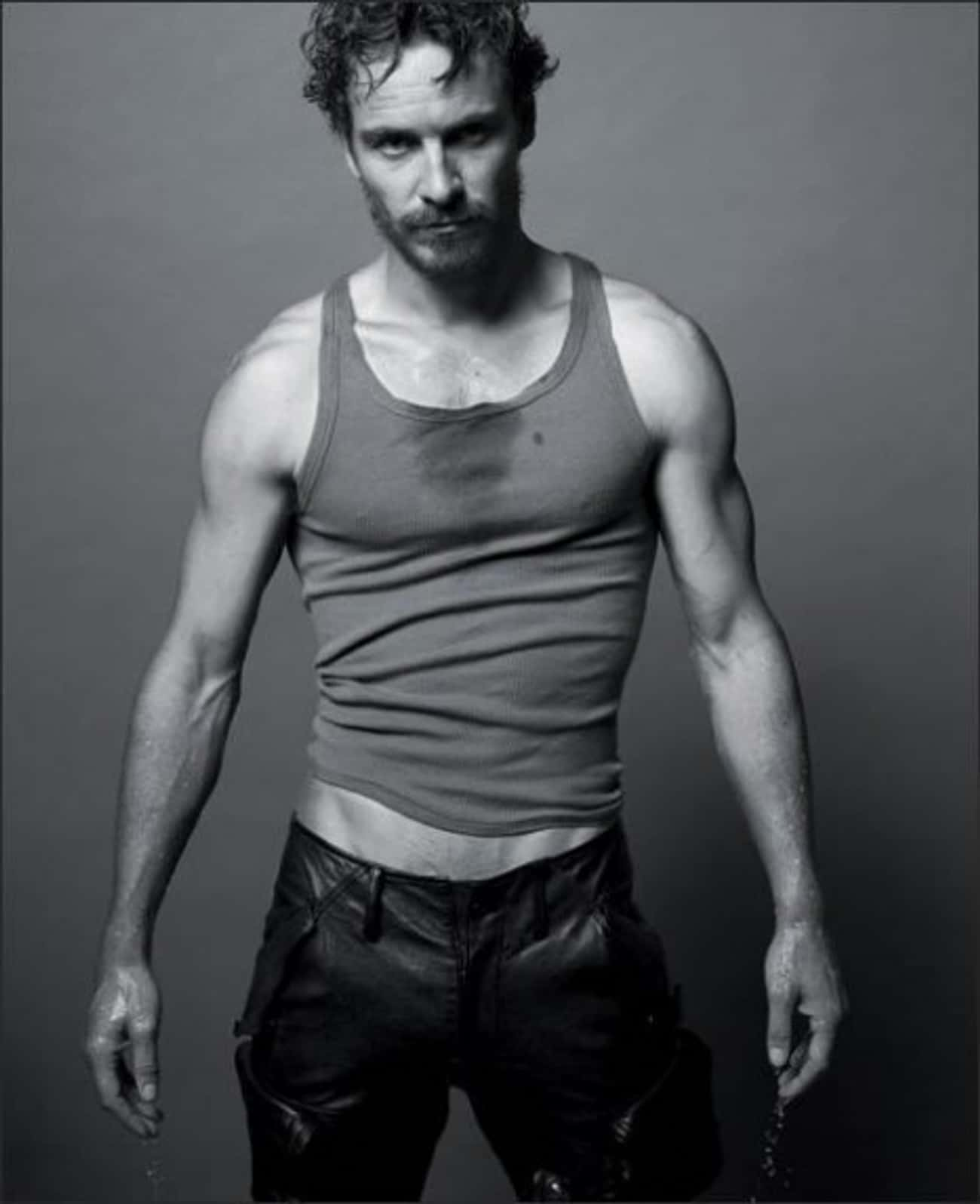 Michael Fassbender in Cropped Sleeveless
