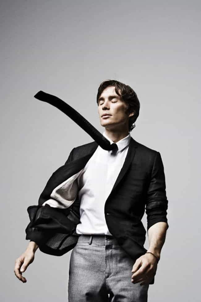 Cillian Murphy in Black Tailor... is listed (or ranked) 3 on the list Hot Cillian Murphy Photos