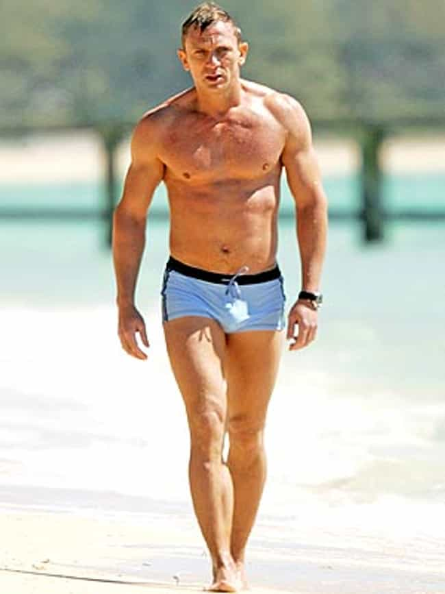 Daniel Craig in Beach Boxer Sh... is listed (or ranked) 1 on the list Hot Daniel Craig Photos