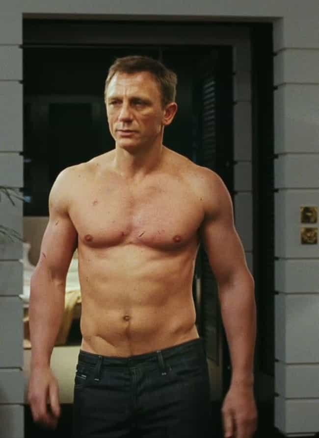 Daniel Craig in Black Fitted J... is listed (or ranked) 4 on the list Hot Daniel Craig Photos