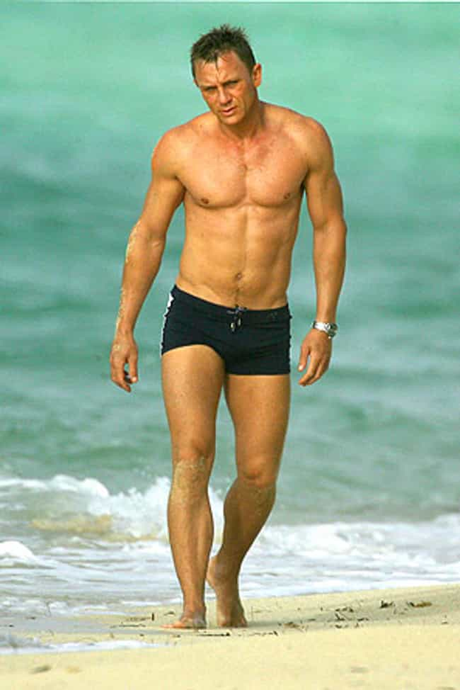 Daniel Craig in Black Swimming... is listed (or ranked) 3 on the list Hot Daniel Craig Photos