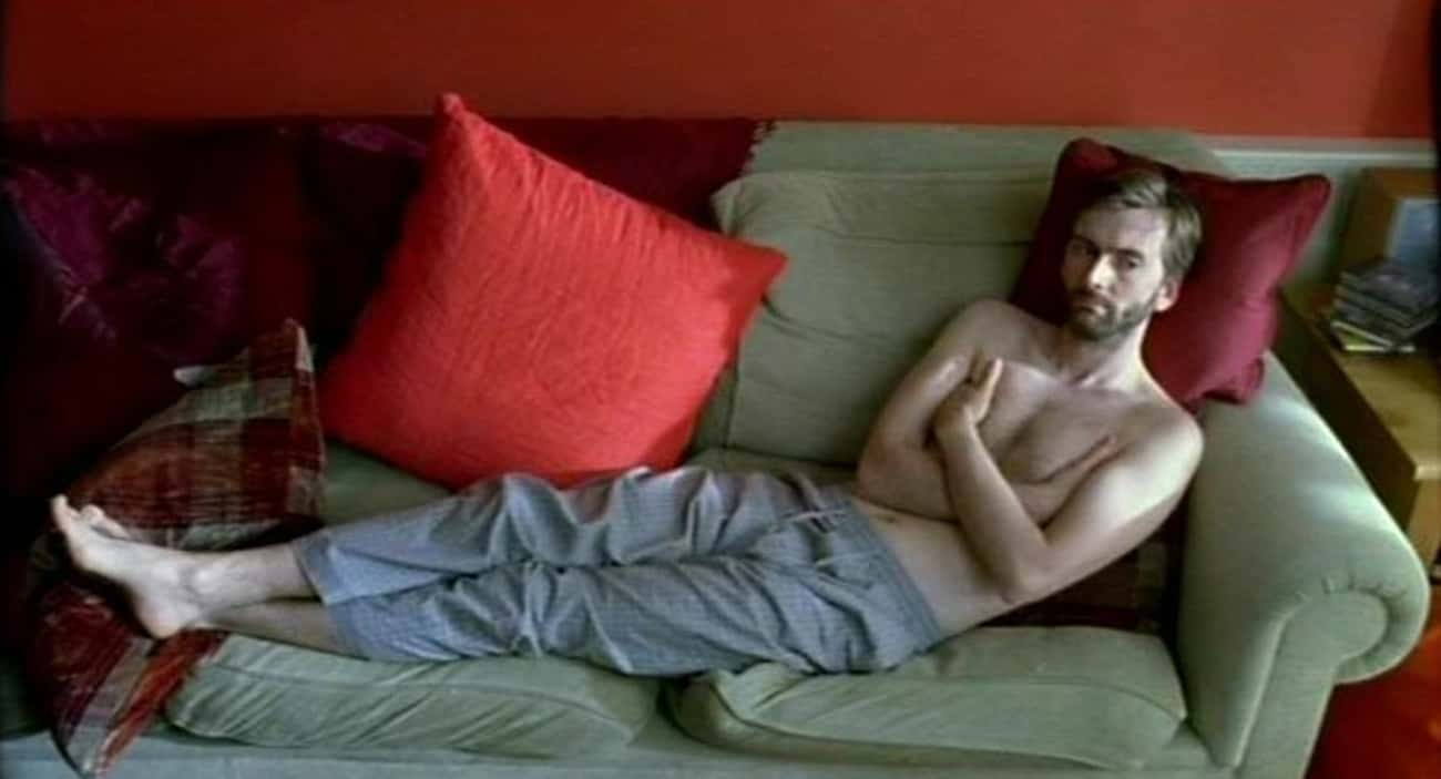 David Tennant in Stripes Pajam is listed (or ranked) 2 on the list Hot David Tennant Photos