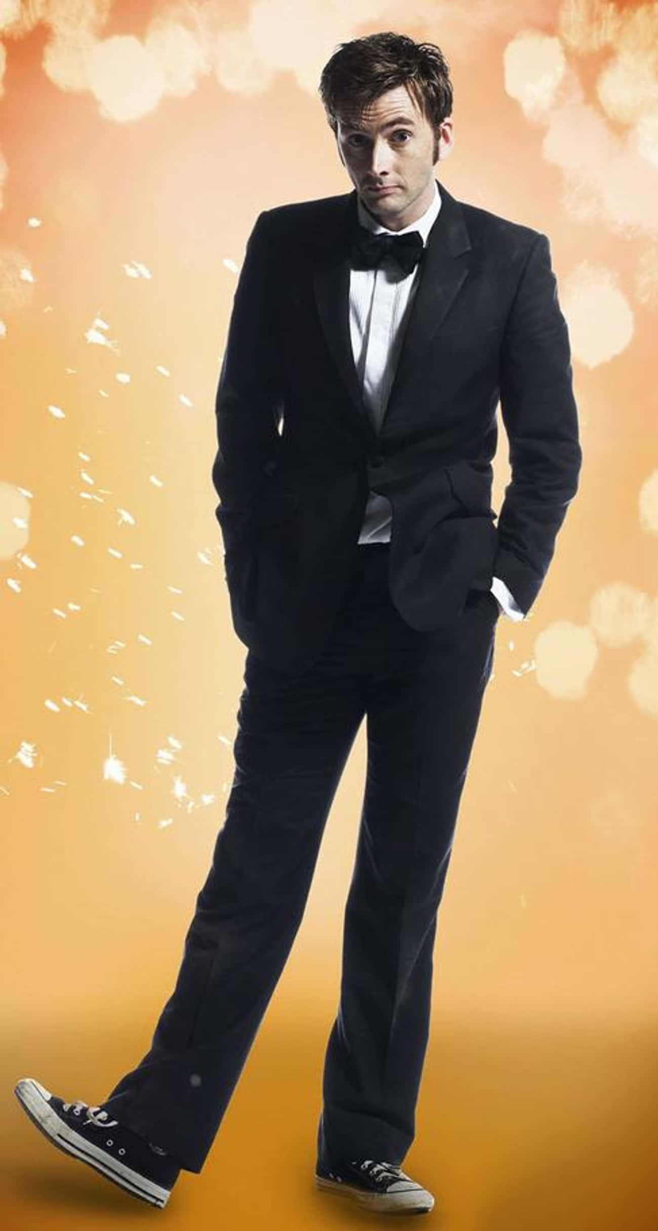 David Tennant in Slim Fit Blaz is listed (or ranked) 1 on the list Hot David Tennant Photos