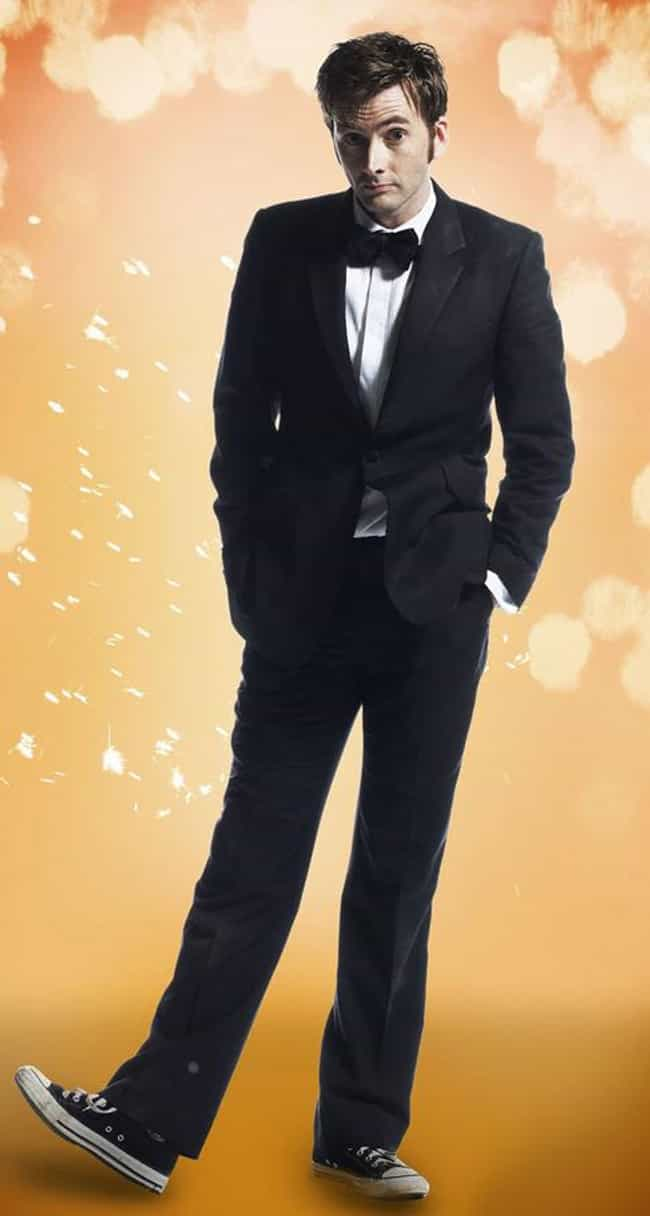 David Tennant in Slim Fit Blaz... is listed (or ranked) 3 on the list Hot David Tennant Photos