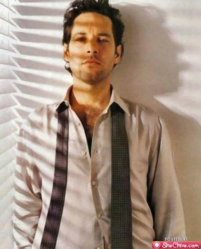 Paul Rudd in White Polo ... is listed (or ranked) 4 on the list Hot Paul Rudd Photos