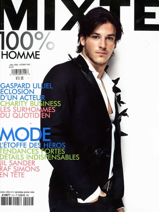 Gaspard Ulliel in Bright Fashi... is listed (or ranked) 3 on the list Hot Gaspard Ulliel Photos
