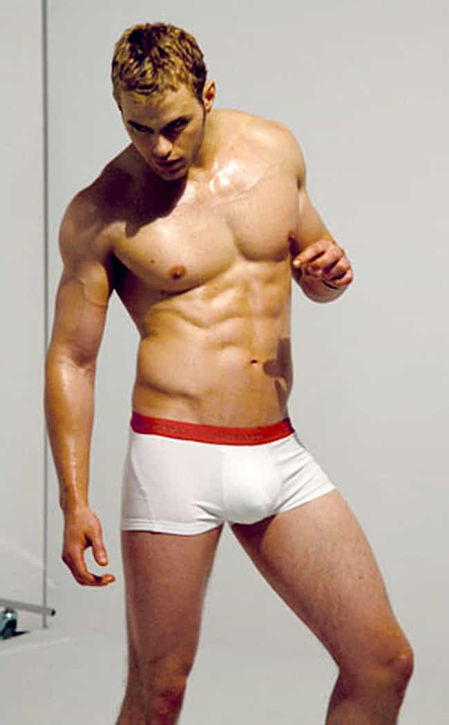 Kellan Lutz in White Underwear is listed (or ranked) 3 on the list Hot Kellan Lutz Photos
