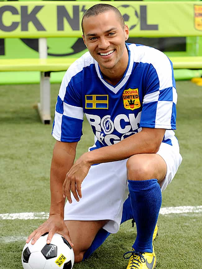 Jesse Williams in Soccer Sport... is listed (or ranked) 2 on the list Hot Jesse Williams Photos