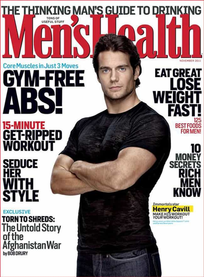 Henry Cavill in Black Satin T-... is listed (or ranked) 4 on the list Hot Henry Cavill Photos
