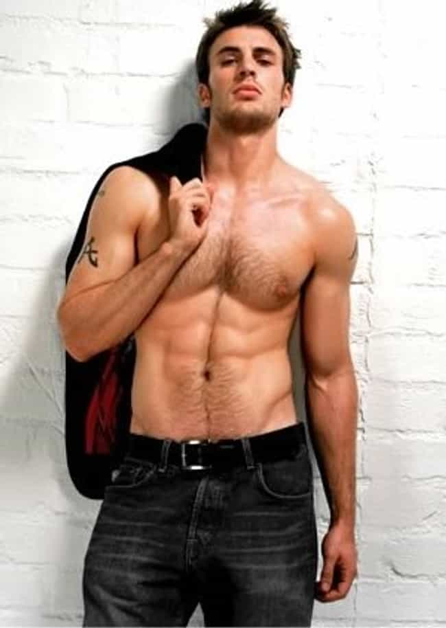 Chris Evans in Faded Jeans is listed (or ranked) 2 on the list Hot Chris Evans Photos