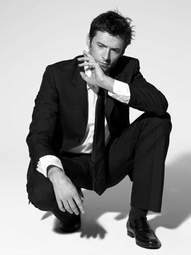 Hugh Jackman in Slim Tailored ... is listed (or ranked) 4 on the list Hot Hugh Jackman Photos