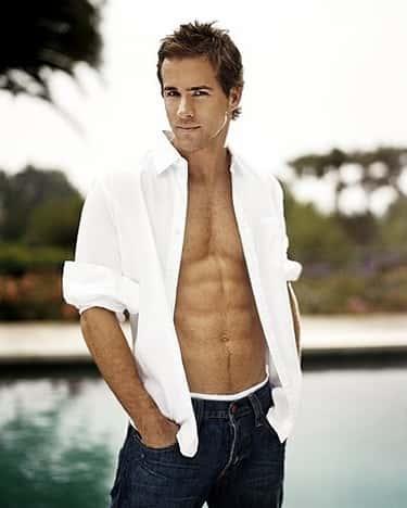 Ryan Reynolds in Holey Long Sleeve